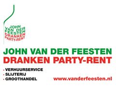 John van der Feesten dranken party-rent